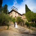 foto matrimonio esterno villa pignattelli