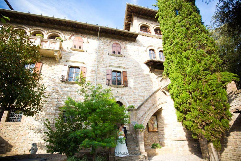 foto facciata villa pignattelli