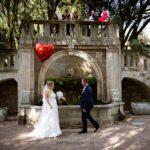 immagine matrimonio fontana villa pignattelli